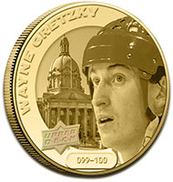 Grandeur Coins featuring Hockey Players
