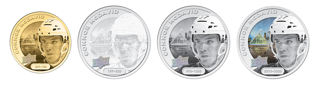 Connor McDavid Coins